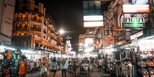 Backpackerstraße Bangkok