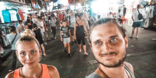 Backpackerszene Bangkok