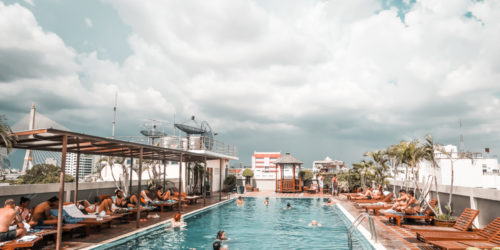 Hotel mit Dachpool in Bangkok