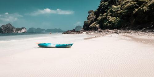 Einsamer Strand Thailand