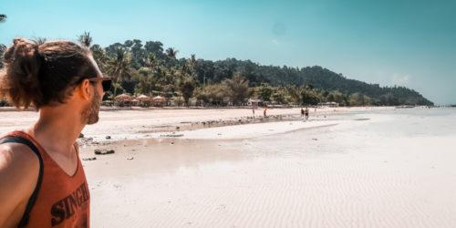 Einsamer Strand Koh Ngai