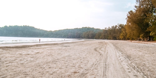 Schönster Strand auf Thailand Reiseroute