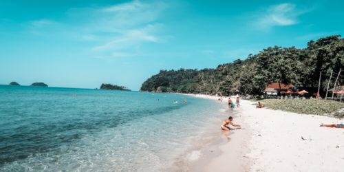 Schöner Strand Koh Chang