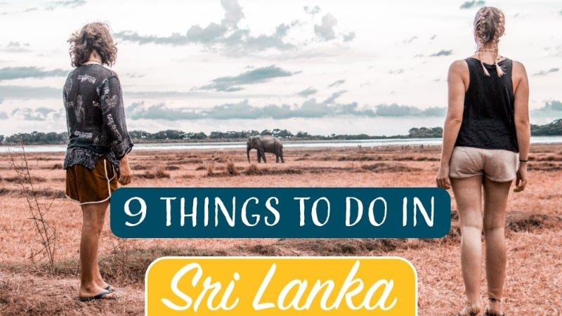 Sri-Lanka Elefanten