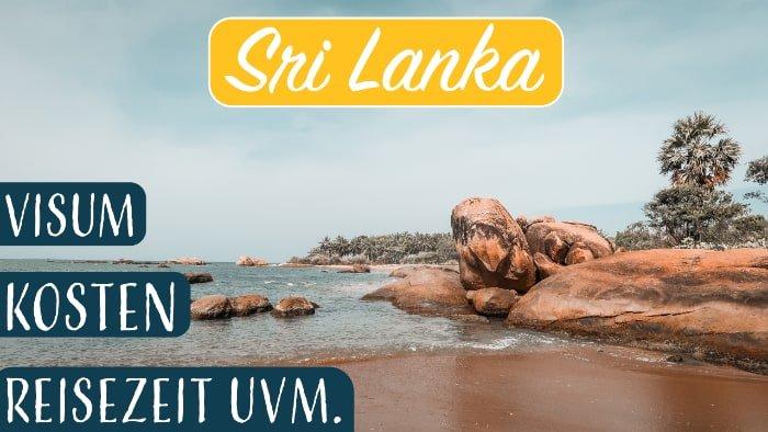 Sri Lanka Reisevorbereitung