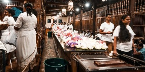 Kandy Sri Lanka Zahntempel